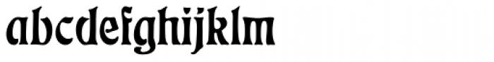 Eckmann D Font LOWERCASE