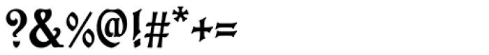 Eckmann Initials D Font OTHER CHARS