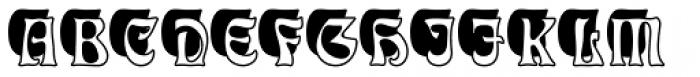 Eckmann Initials D Font UPPERCASE