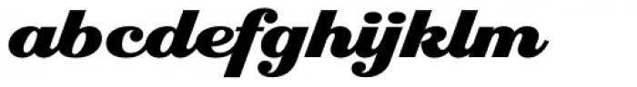 Eclat Font LOWERCASE