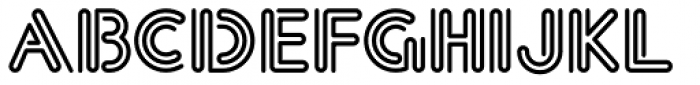 Eclectic Crumpany NF Font UPPERCASE
