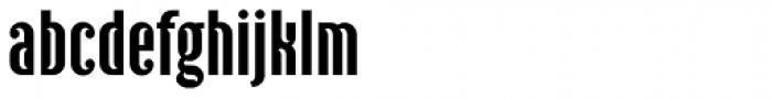 Ecliptica BT Sans Font LOWERCASE