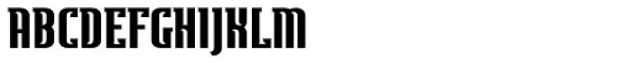Ecliptica Semi Serif Extended Font UPPERCASE