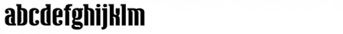 Ecliptica Semi Serif Extended Font LOWERCASE