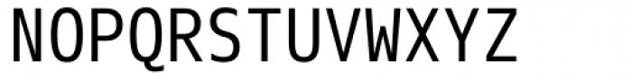 Eco Coding Font UPPERCASE