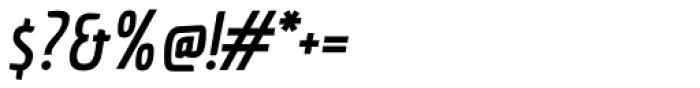 Economica Cyrillic PRO Bold Italic Font OTHER CHARS