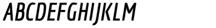 Economica OT Bold Italic Font UPPERCASE