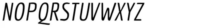 Economica PRO Italic Font UPPERCASE