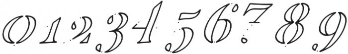 EDENTON NO 6 otf (400) Font OTHER CHARS