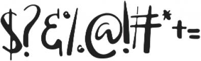 Edeline Swirl otf (400) Font OTHER CHARS