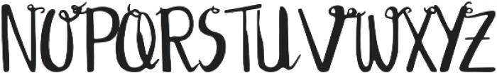 Edeline Swirl otf (400) Font UPPERCASE