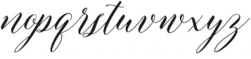 Edelweis Script Regular otf (400) Font LOWERCASE