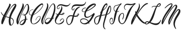 Edelweiss Soft Script otf (400) Font UPPERCASE