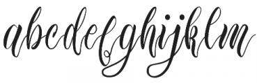 Edelweiss Soft Script otf (400) Font LOWERCASE