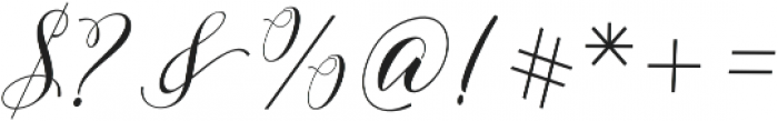 Edelwies Regular otf (400) Font OTHER CHARS