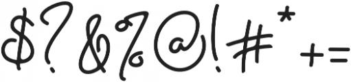 Eden Hazard otf (400) Font OTHER CHARS