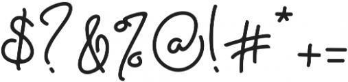 Eden Hazard ttf (400) Font OTHER CHARS