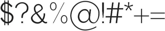 Edina otf (400) Font OTHER CHARS