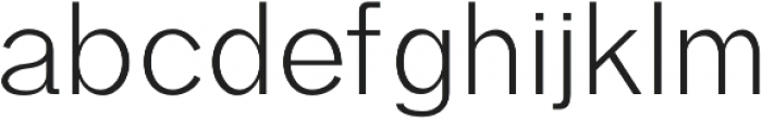 Edina otf (400) Font LOWERCASE