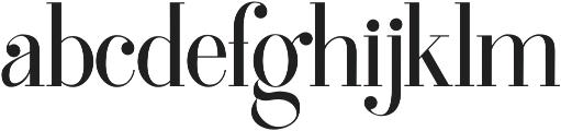 Edinburgh otf (400) Font LOWERCASE
