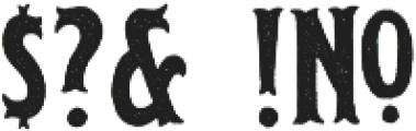 Edmond otf (400) Font OTHER CHARS