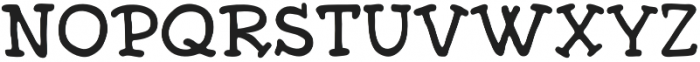 Edmond otf (700) Font UPPERCASE