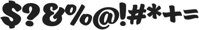 Eds Market Bold otf (700) Font OTHER CHARS