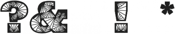 Edyra otf (400) Font OTHER CHARS