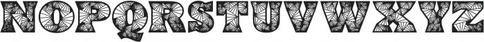 Edyra otf (400) Font LOWERCASE