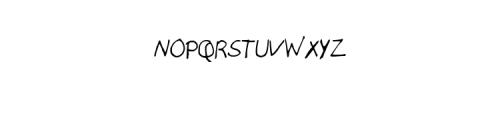 EduardoHand-Regular.ttf Font UPPERCASE