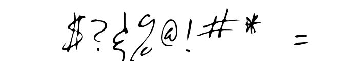 Eddie Regular Font OTHER CHARS