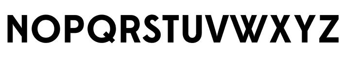 Edmondsans-Bold Font UPPERCASE