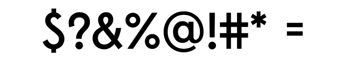 Edmondsans-Medium Font OTHER CHARS