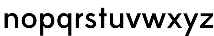 Edmondsans-Medium Font LOWERCASE