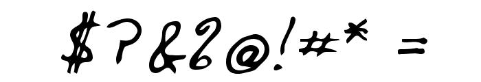 Edward Regular Font OTHER CHARS