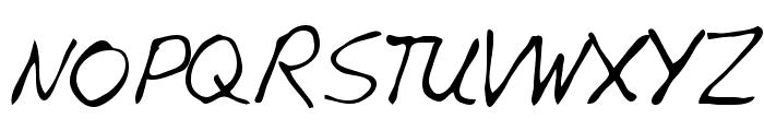 Edward Regular Font UPPERCASE