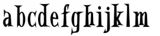 Eddie Fisher Bold Font LOWERCASE