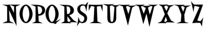 Eddie Fisher Heavy Font UPPERCASE