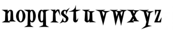 Eddie Fisher Heavy Font LOWERCASE