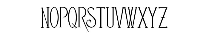 EDITORS Font UPPERCASE