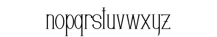 EDITORS Font LOWERCASE