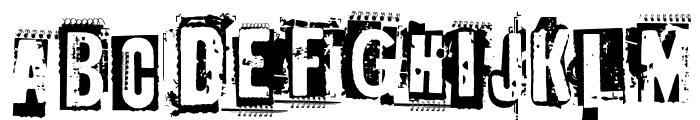 EdGein-Gwilty Font LOWERCASE