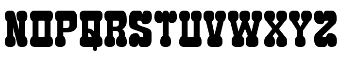 Edamame Western Font LOWERCASE