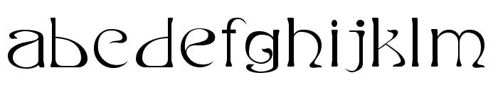 Edda Filled Font LOWERCASE