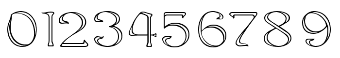 Edda Outline Font OTHER CHARS