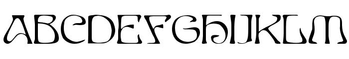 EddaCaps Font UPPERCASE