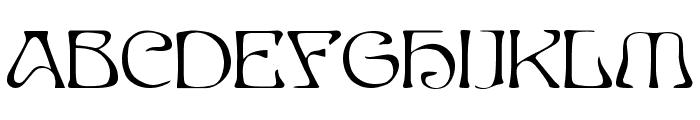 EddaCaps Font LOWERCASE