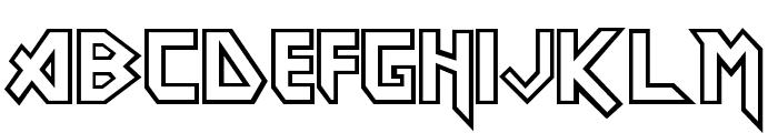 Eddie Font UPPERCASE