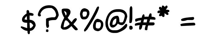 Edd's Font Font OTHER CHARS