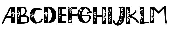 EddyGardenerRegular Font LOWERCASE